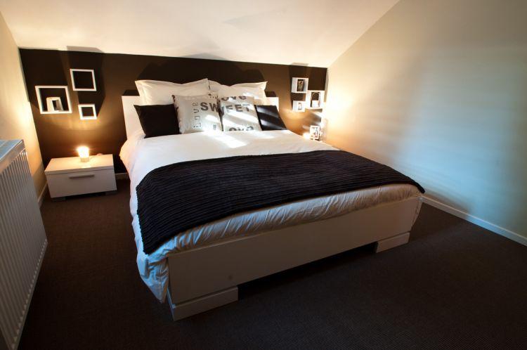 Best Chambre Blanche Et Marron Gallery - House Design - marcomilone.com
