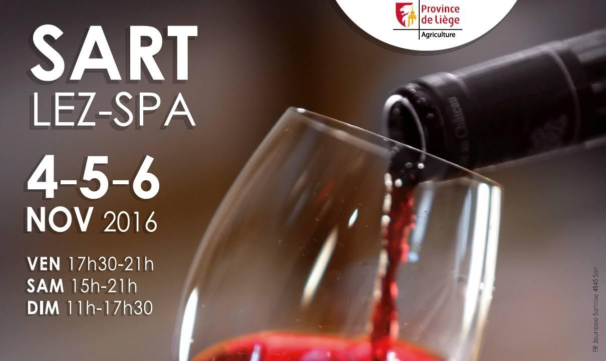 Salon du vin office du tourisme de jalhay sart for Salon du vin toulouse 2017