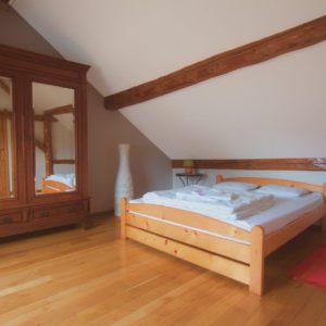 de la chambre à coucher en mezzanine 2 pers.